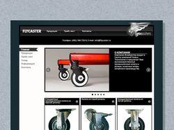 "Дизайн сайта ""flycaster.ru"""