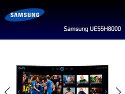Landing-page Samsung