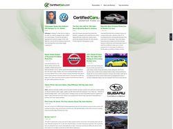 CertifiedCars Autonews