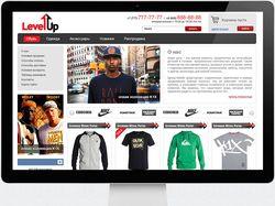 Дизайн интеренет магазина одежды
