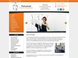 Сайт физиотерапевтического кабинета