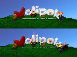 Эскиз шапки сайта Volipok