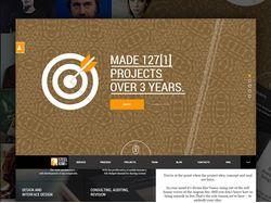 Корпоративный сайт для веб-сутдии Kiwi