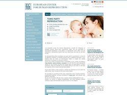 Разработка сайта-визитки для Европейского центра