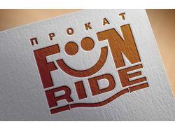 Логотип центра проката Fun Ride