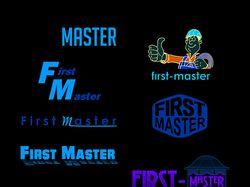 Логотип для сайта first-master (вектор)