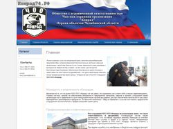 Сайт охранной организации