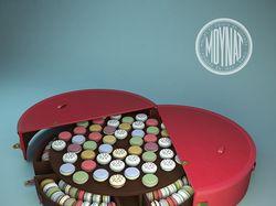 Визуализация чемодана Malle Macaron.