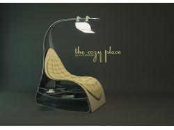 """Кресло """"мягкое место""""."""