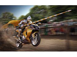 Medieval Motorcycle