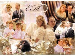 свадебный коллаж