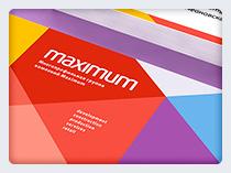 """Фирменный стиль – группа компаний """"Maximum"""""""