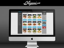 "Разработка сайта ""Оригами кафе"""