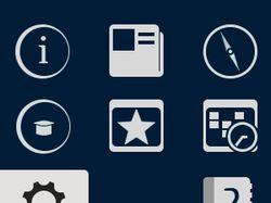 Иконки для Android-приложения университета PGU