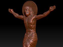 3d модель Спаситель Православный 3