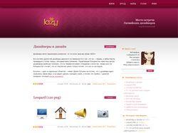 Lazy.lv design