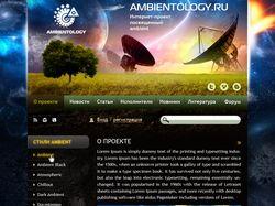 Сайт проекта Ambientology