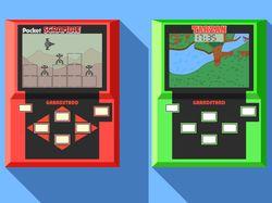 Pocket videogames.