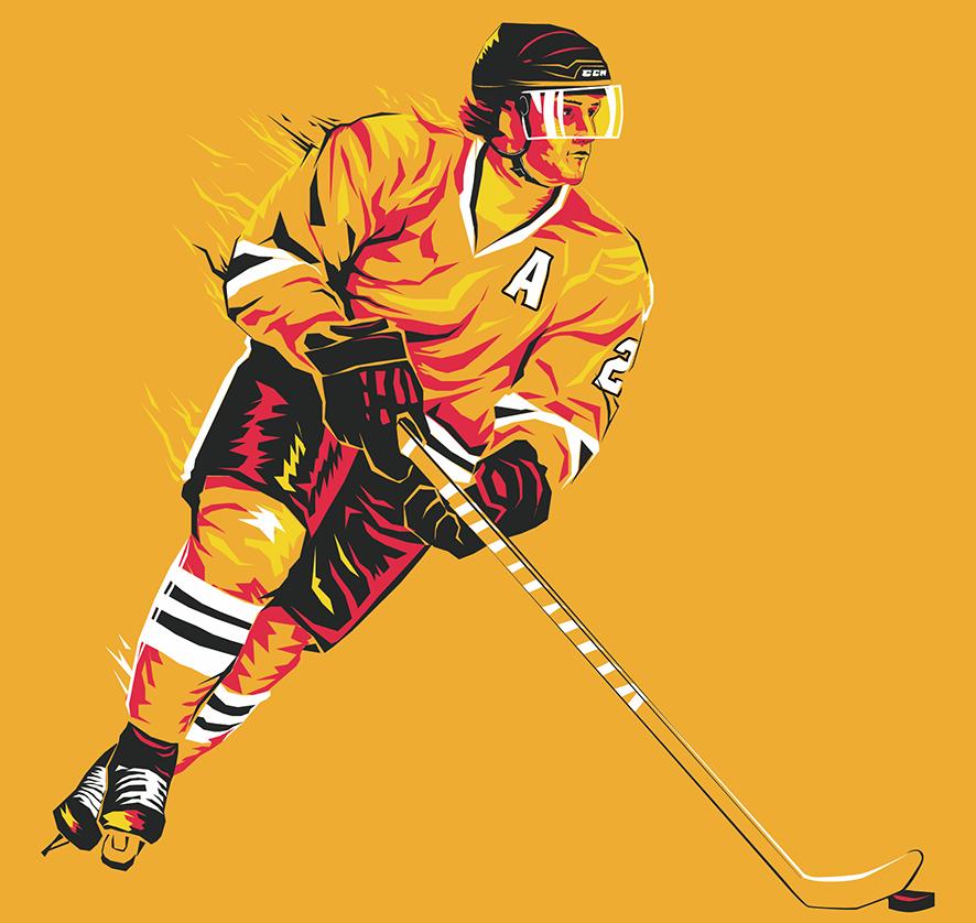картинки арт животные хоккей этой статье расскажем