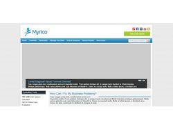 Пример простого сайта
