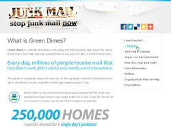 GreenDimes - Junk Mail