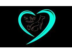 """Логотип, ветеринарная клиника """"Доктор Петс"""""""