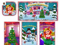 Princess Christmas Wonderland
