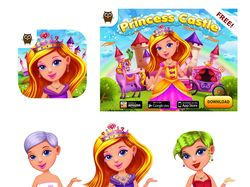 "Childs game ""Princess Castle Fun"""