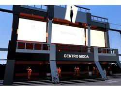 Реконструкція фасаду будівлі магазину одягу