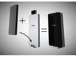 Батарея для зарядки телефону