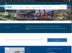 Официальный сайт компании UGC