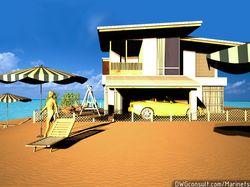 Дом у берега