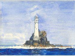 маяк   Fastnet Rock