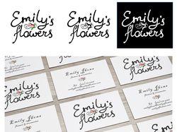 Логотип Emily's Flowers