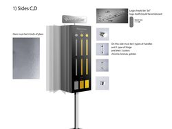 Дизайн стенда для фурнитуры для Гутеветтер
