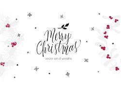 """Леттеринг """"Merry Christmas"""""""