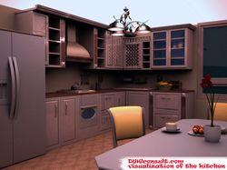 Визуализация. Кухня.