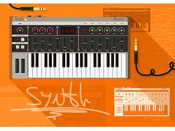 Ретро-синтезатор