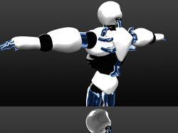 3D заготовки персонажей Робот