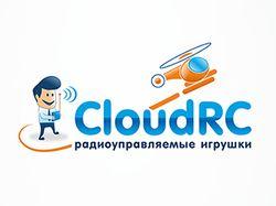 Разработанный логотип для Cloud RC