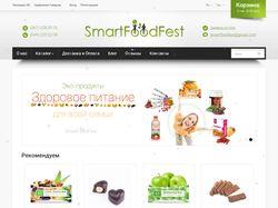 """""""SmartFoodFest"""" - Интернет-магазин живой еды"""