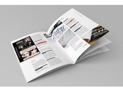 Рекламные блоки в глянцевое издание