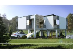 Уникальный жилой дом