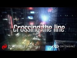 Звук для игры «Crossing The Line»