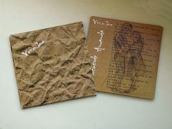 Упаковка диска музыки Виктора Хара