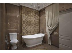 классика- визуализация ванная