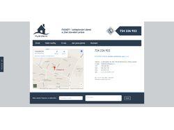 Сайт чешской строительной компании