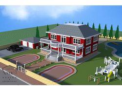 дизайн проект домов, интерьер дизайн, ландшафт.