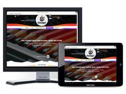 Сайт сервиса разработки логотипов // Шаблон