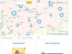 Joomla компонент карты с магазинами